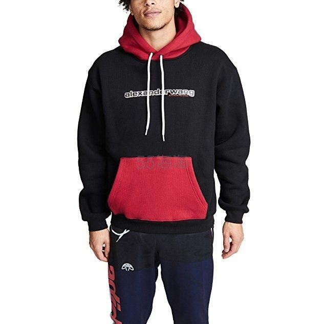 仅剩s码!Alexander Wang Compact Fleece 拼色卫衣 0(约1,544元) - 海淘优惠海淘折扣|55海淘网