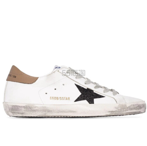 GOLDEN GOOSE Superstar 棕尾小脏鞋 港币3,847(约3,450元) - 海淘优惠海淘折扣|55海淘网