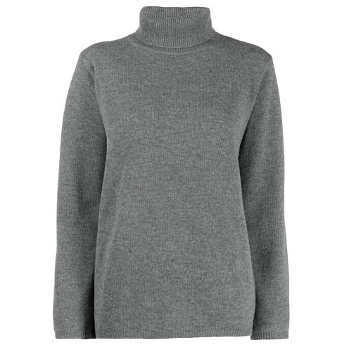 TOTEME Cambridge 灰色高领套头衫 港币3,024(约2,712元) - 海淘优惠海淘折扣|55海淘网