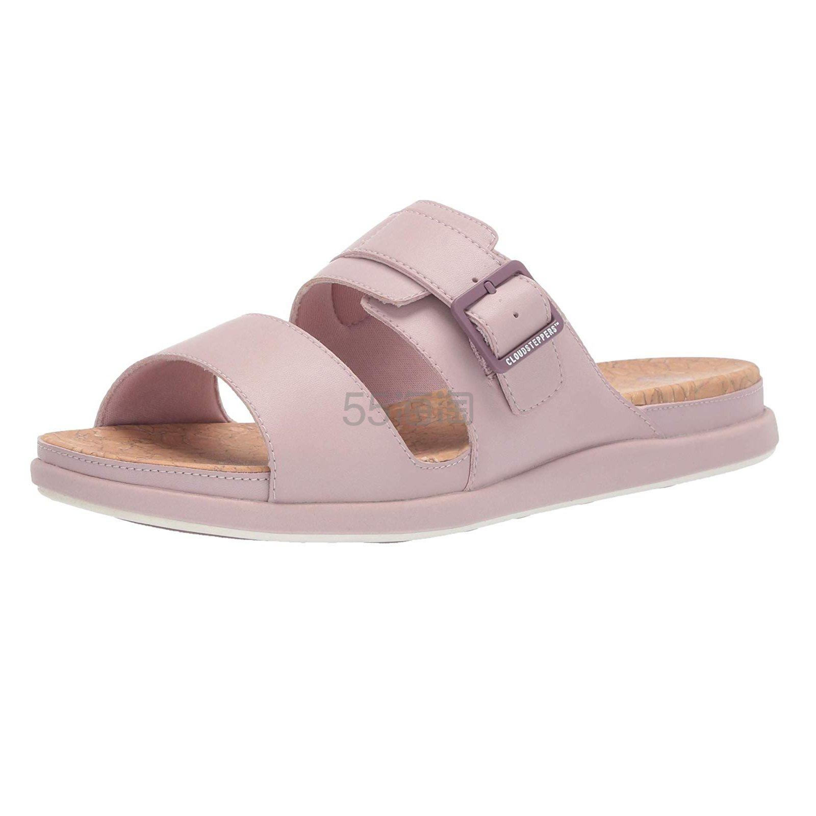 【中亚Prime会员】Clarks 其乐 Step June Tide 女士沙滩凉鞋拖鞋 到手价301元 - 海淘优惠海淘折扣|55海淘网