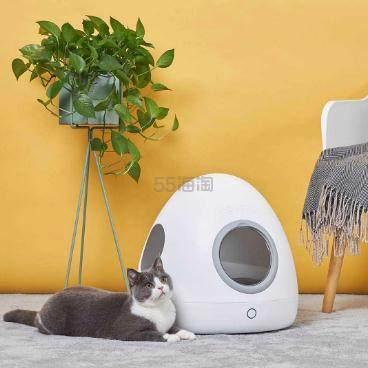 众筹价!萌王星 SPACESHIP 智能宠物冷暖窝 全款支持399元 - 海淘优惠海淘折扣|55海淘网