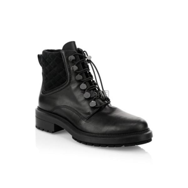 Aquatalia 女士工装风系带短靴