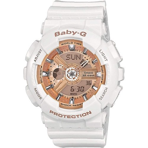 小降!【中亚Prime会员】Casio 卡西欧 BABY-G系列 BA-110-7A1ER 女款运动腕表