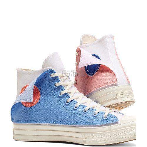 Converse x Joshua Vides 联名款 Chuck 70 二次元高帮鞋 £110(约941元) - 海淘优惠海淘折扣|55海淘网