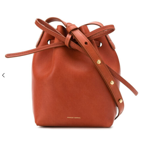 MANSUR GAVRIEL Mini Mini bucket bag 小小水桶包