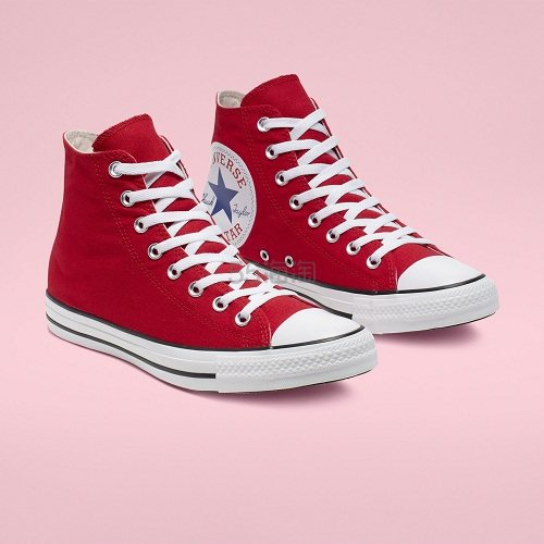 Converse 匡威 All Star 红色高帮大 logo 帆布鞋 .97(约281元) - 海淘优惠海淘折扣|55海淘网