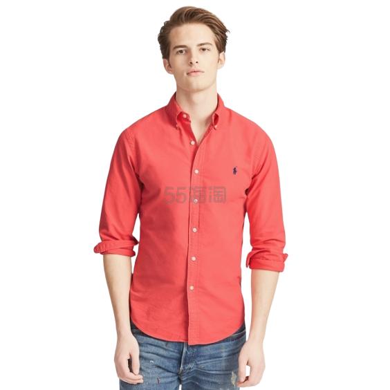 需凑单!Ralph Lauren 拉夫劳伦 修身长袖牛津衬衫 .99(约197元) - 海淘优惠海淘折扣|55海淘网