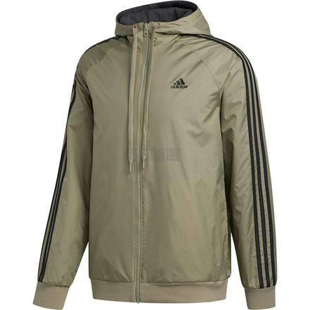 码全!Adidas 阿迪达斯 Balance 男士连帽夹克 .98(约211元) - 海淘优惠海淘折扣|55海淘网