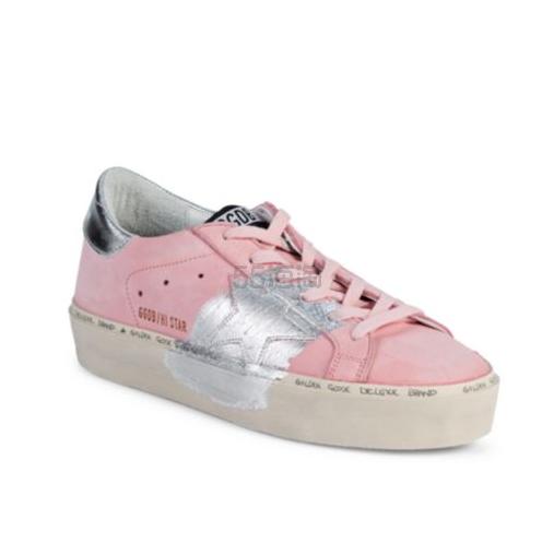 Golden Goose Deluxe Brand 粉色小脏鞋