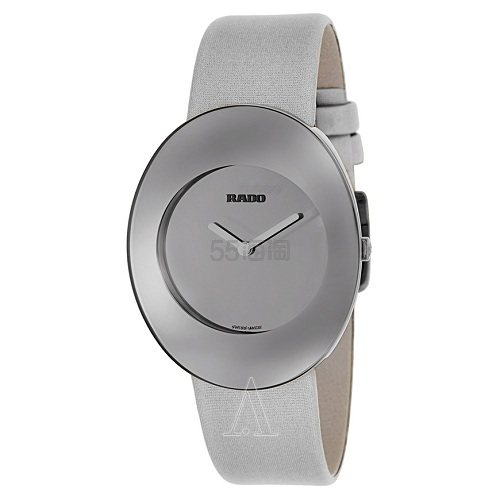 Rado 雷达表 Esenza 系列 银色女士气质腕表 R53739306 9(约2,813元) - 海淘优惠海淘折扣|55海淘网