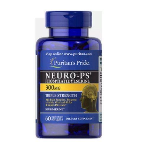 提高记忆力!Puritans Pride 普丽普莱 Neuro-PS 磷脂酰丝氨酸胶囊 300mg 60粒 .99(约176元) - 海淘优惠海淘折扣|55海淘网