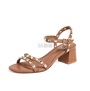 Ash Iggy 铆钉装饰棕色凉鞋 7(约1,038元) - 海淘优惠海淘折扣|55海淘网
