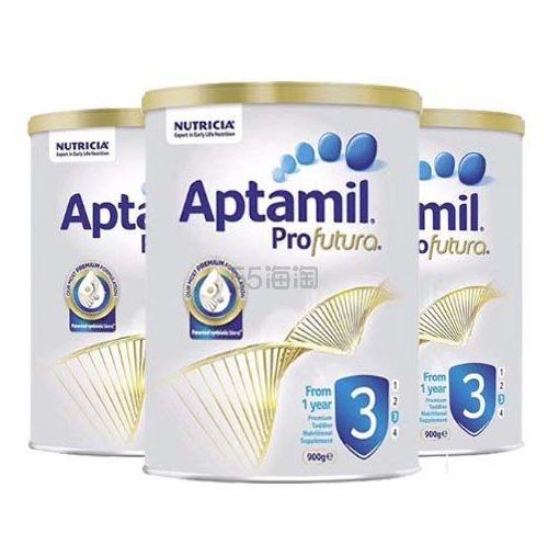 【包邮包税】Aptamil 爱他美铂金版奶粉 3段 900g*3罐 127澳币(约608元) - 海淘优惠海淘折扣|55海淘网