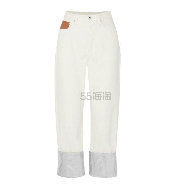 PACO RABANNE 双色男友式牛仔裤 £139.2(约1,192元) - 海淘优惠海淘折扣|55海淘网