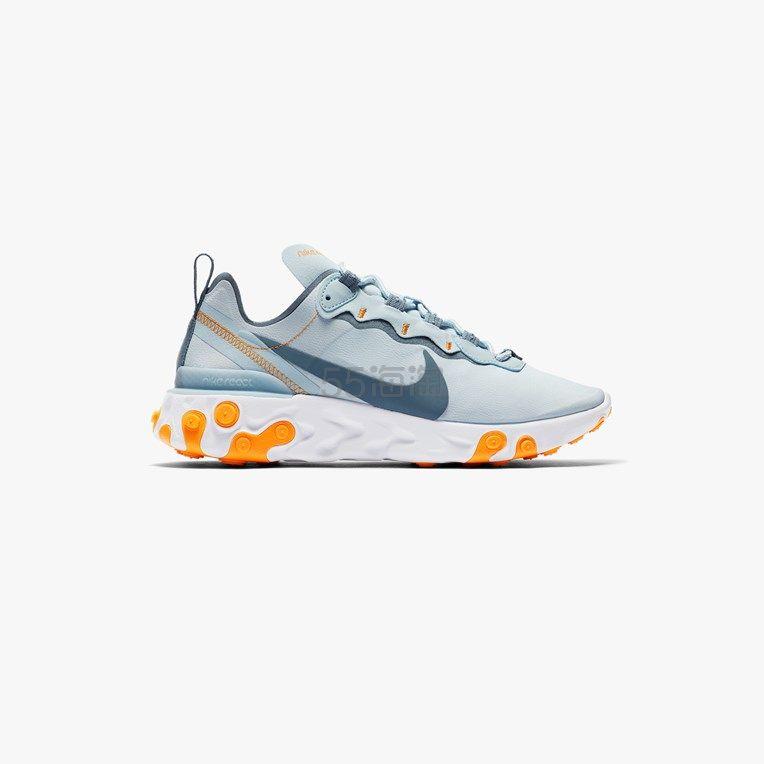【码全】Nike Sportswear Element 55 雾蓝色女士运动鞋 .3(约637元) - 海淘优惠海淘折扣 55海淘网
