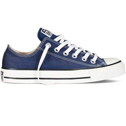 码全!Converse 匡威 All Star 藏蓝色低帮帆布鞋 £37.5(约321元) - 海淘优惠海淘折扣|55海淘网