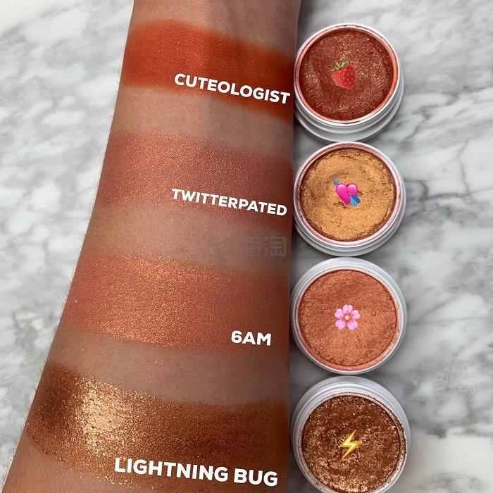 Colourpop:蜜桃色,珊瑚色,橘色系 精选夏季热卖款土豆泥眼影 - 海淘优惠海淘折扣|55海淘网