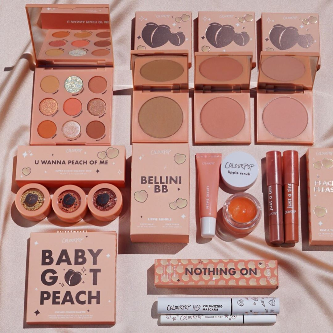 Colourpop 卡拉泡泡 Peach Collection 系列彩妆