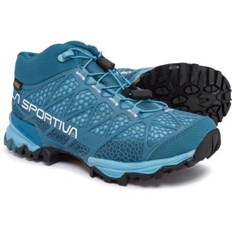 限时高返12%!限尺码!La Sportiva Synthesis Mid Gore-Tex 女款徒步登山鞋 (约417元) - 海淘优惠海淘折扣|55海淘网