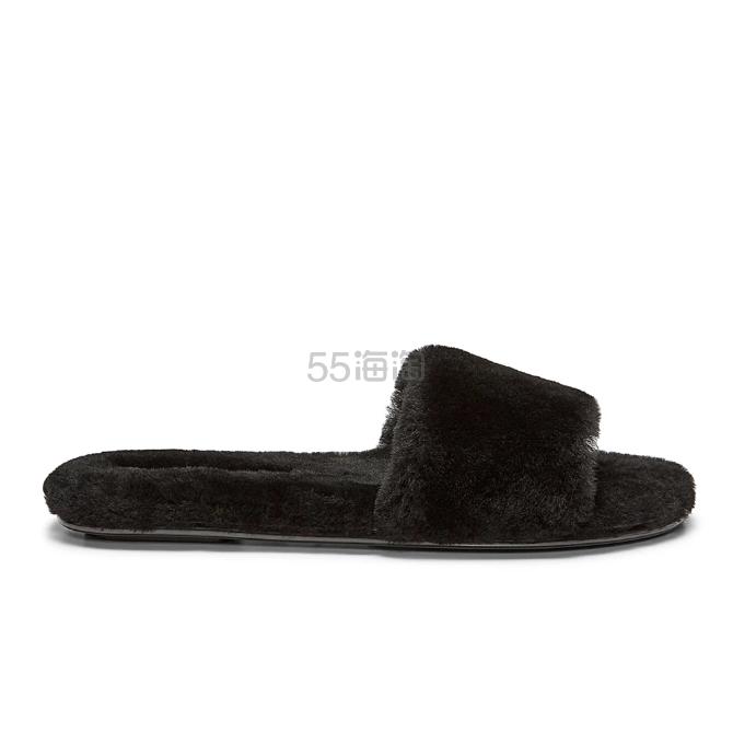 Rebecca Minkoff Palah 绒毛拖鞋 .5(约222元) - 海淘优惠海淘折扣|55海淘网
