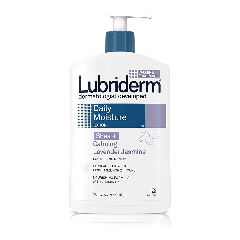 补货!倒计时!Lubriderm 保湿滋润乳液 乳木果薰衣草茉莉香型 473ml*3瓶
