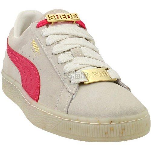 Puma 彪马 Suede Classic 米色粉拼运动鞋 .95(约283元) - 海淘优惠海淘折扣|55海淘网