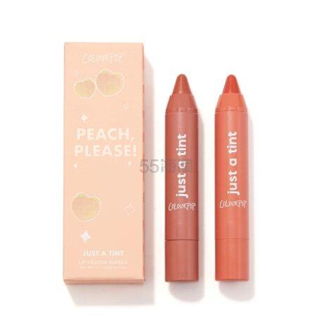 Colourpop 卡拉泡泡蜡笔唇膏 Peach, Please (约85元) - 海淘优惠海淘折扣|55海淘网