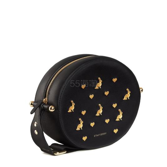 Strathberry Breve 爱丽丝系列兔子刺绣圆形单肩包 新款 £545(约4,746元) - 海淘优惠海淘折扣|55海淘网