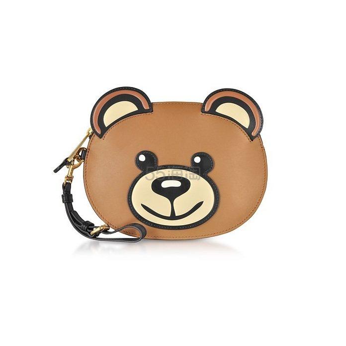 4折!Moschino Teddy Bear 小熊零钱包 €261.6(约2,067元) - 海淘优惠海淘折扣|55海淘网