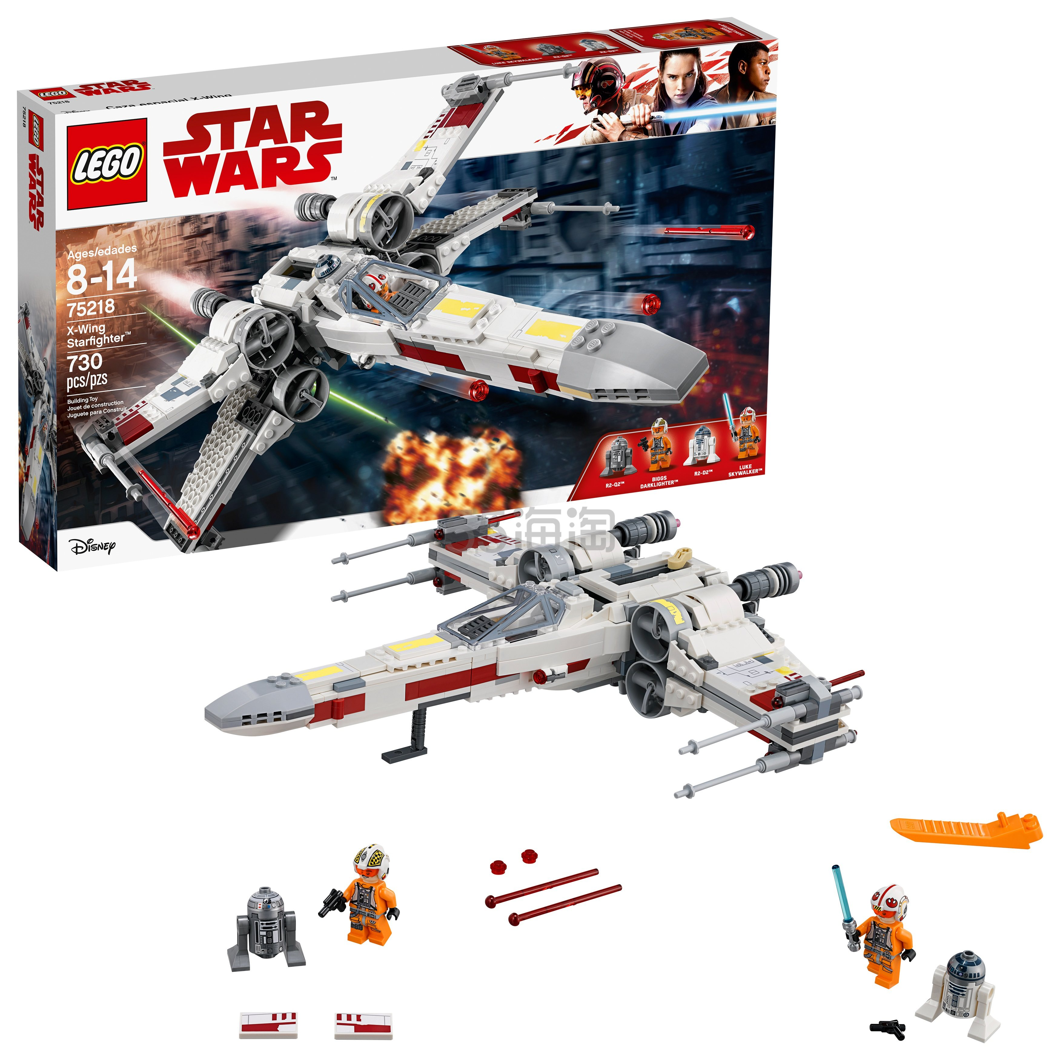 LEGO 乐高 星球大战系列 75218 X翼战机套装 .99(约394元) - 海淘优惠海淘折扣|55海淘网
