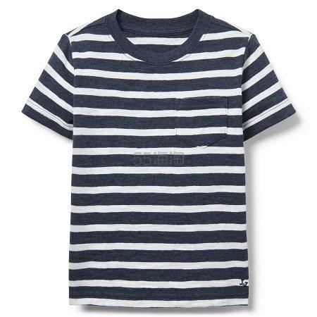 Janie and Jack 童款条纹T恤衫 .39(约46元) - 海淘优惠海淘折扣|55海淘网
