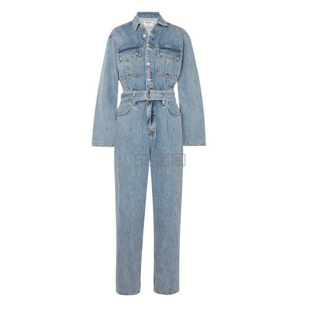 AGOLDE Tatum 配腰带牛仔连身裤 £300(约2,625元) - 海淘优惠海淘折扣 55海淘网