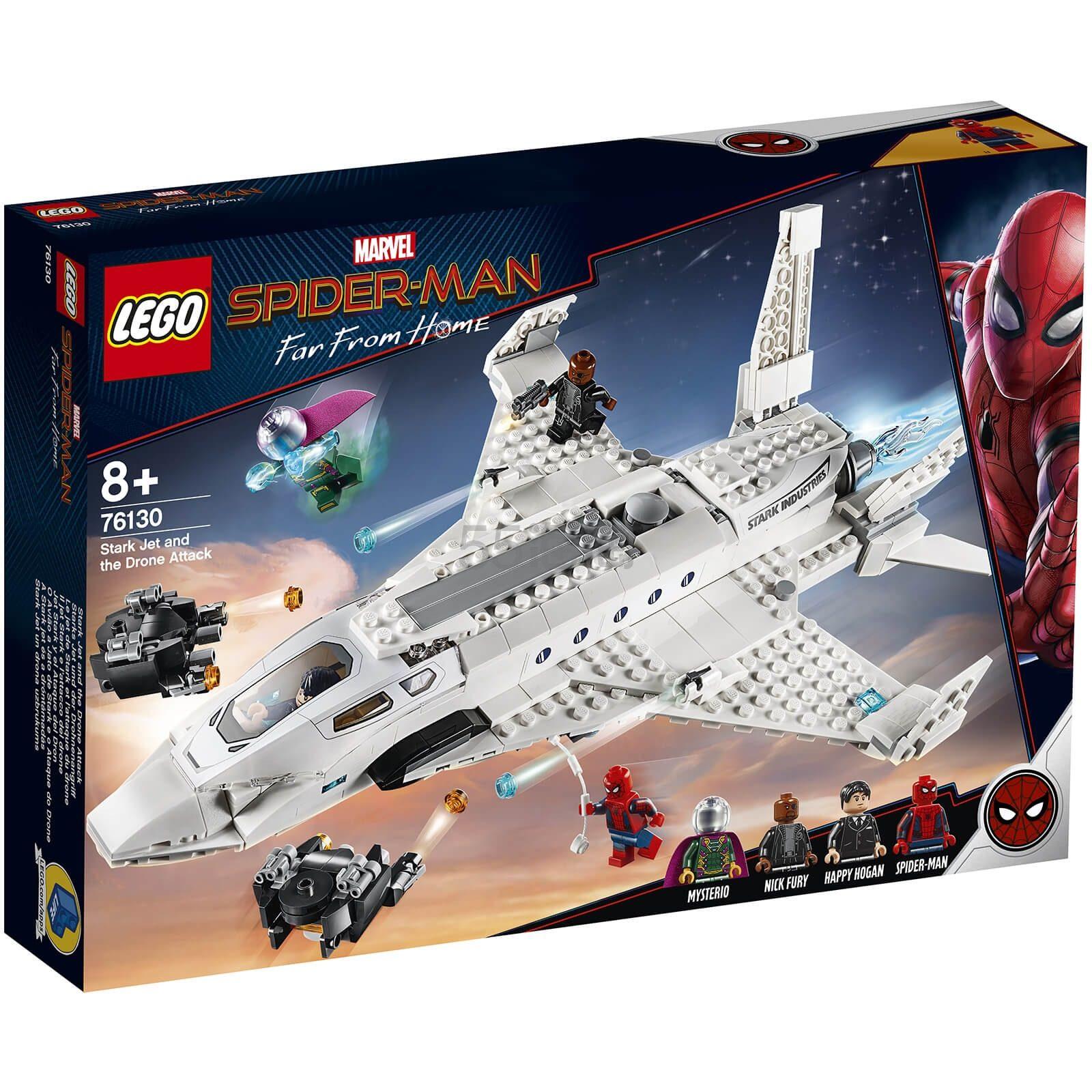 免邮中国!LEGO 乐高 超级英雄系列 钢铁侠战机和无人机攻击 (76130) £43.99(约385元) - 海淘优惠海淘折扣|55海淘网