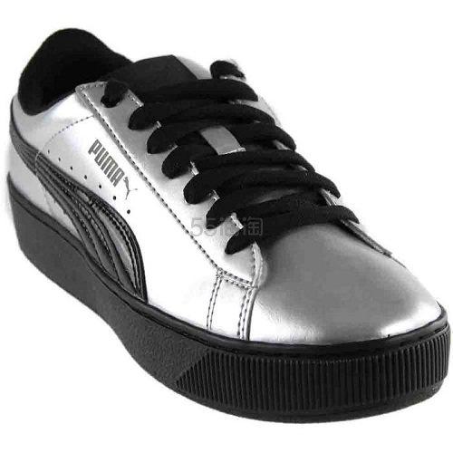 Puma 彪马 Vikky 银黑色运动鞋