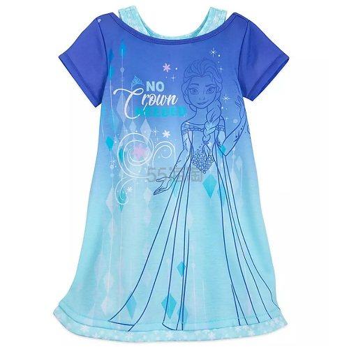 Disney 迪士尼 冰雪奇缘 艾莎女孩睡衣 .99(约57元) - 海淘优惠海淘折扣|55海淘网