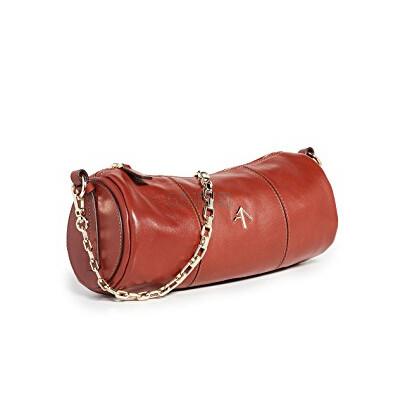 补货上架~MANU Atelier Cylinder 红色圆筒包 0(约2,858元) - 海淘优惠海淘折扣|55海淘网