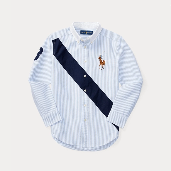 Ralph Lauren 拉夫劳伦 Banner Cotton Oxford 大童衬衫