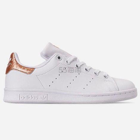 adidas Originals 三叶草 Stan Smith 大童款板鞋 (约214元) - 海淘优惠海淘折扣|55海淘网