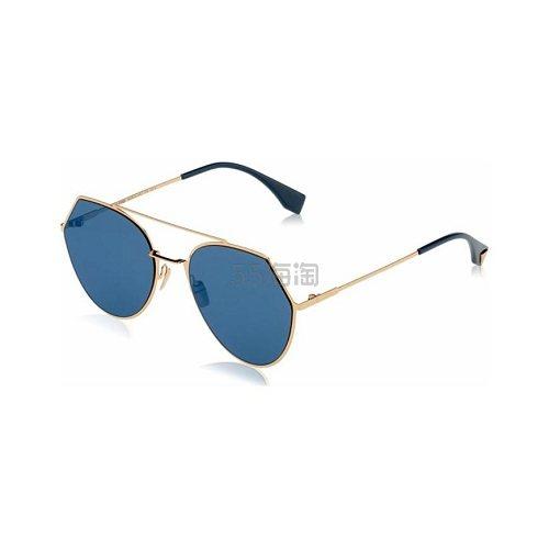 Fendi 芬迪 金框蓝色太阳镜 .99(约643元) - 海淘优惠海淘折扣|55海淘网