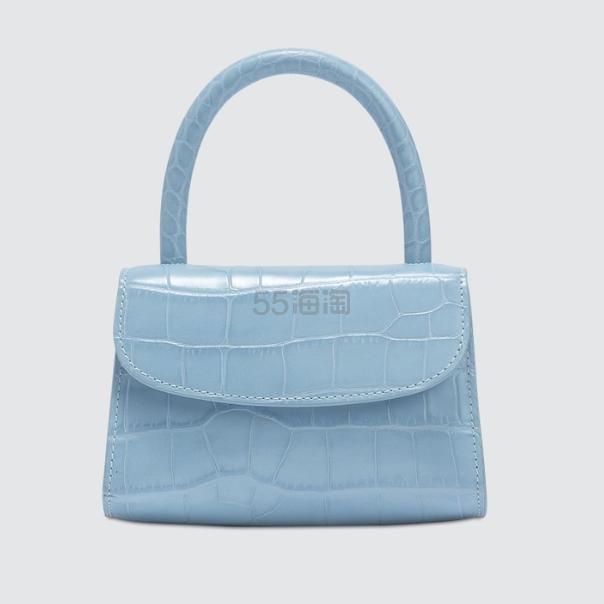 BY FAR 迷你蓝色手提包 0(约3,983元) - 海淘优惠海淘折扣|55海淘网