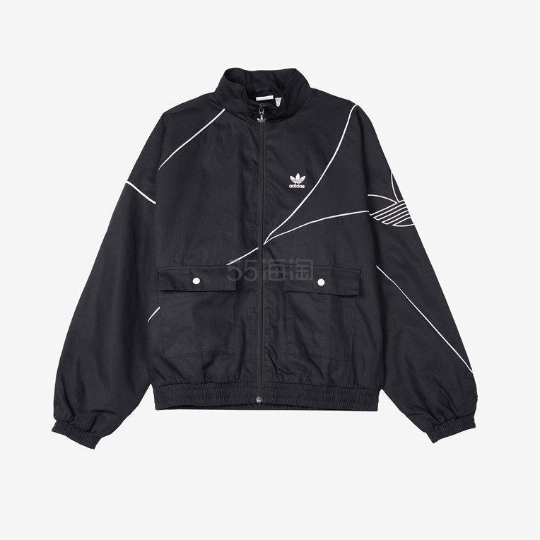 adidas Originals 黑色外套 (约704元) - 海淘优惠海淘折扣|55海淘网