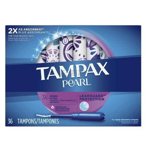 【第2件半价+满额外8.5折+每单减】Tampax 丹碧丝 卫生棉条 36个