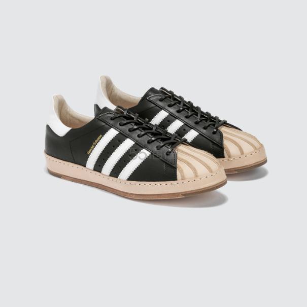 【仅剩8码】Hender Scheme x Adidas Superstar 拼色运动鞋 8(约5,184元) - 海淘优惠海淘折扣|55海淘网