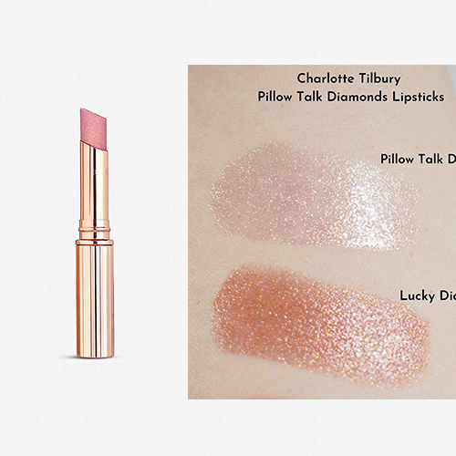 新品!Charlotte Tilbury Pillow Talk 钻石唇膏