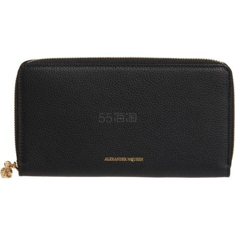 Alexander McQueen 女士长拉链皮夹 9(约2,092元) - 海淘优惠海淘折扣|55海淘网