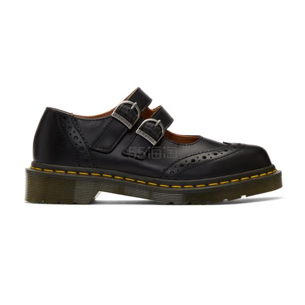Comme des Garçons Comme des Garçons Dr. Martens 玛丽珍黑色皮鞋 0(约2,562元) - 海淘优惠海淘折扣|55海淘网