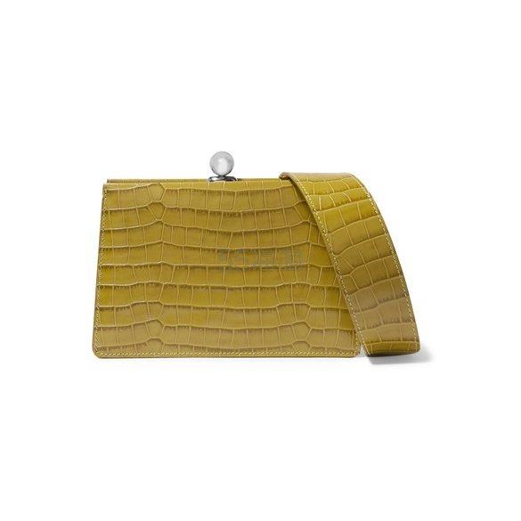 RATIO ET MOTUS Mini Twin 仿蛇纹皮革单肩包 £425(约3,760元) - 海淘优惠海淘折扣|55海淘网