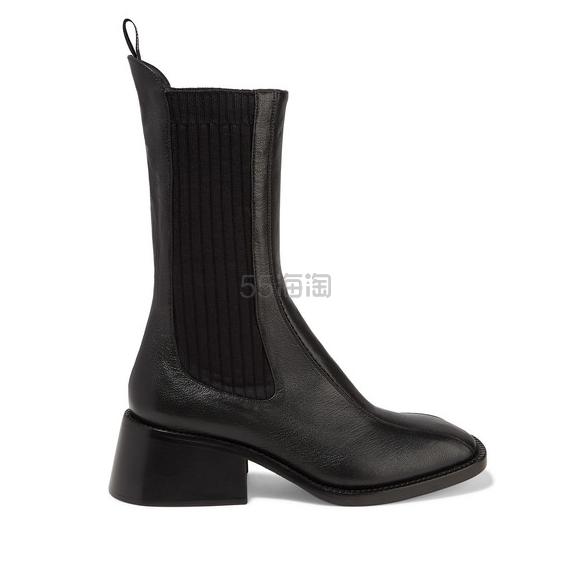 CHLOÉ Bea 纹理皮革切尔西靴 £850(约7,520元) - 海淘优惠海淘折扣|55海淘网