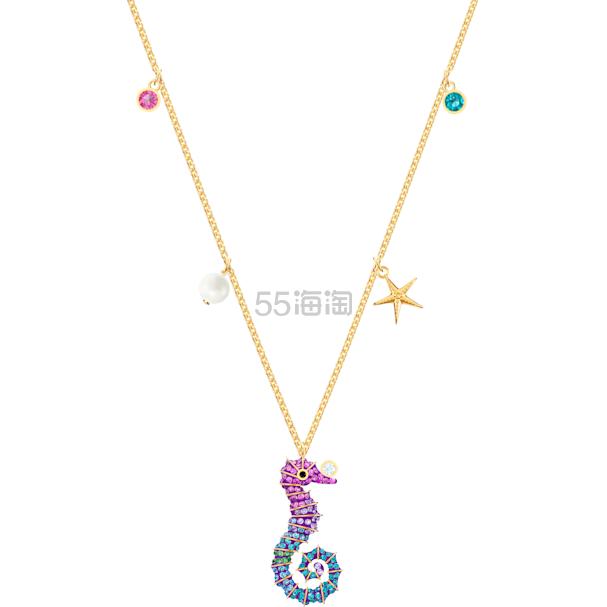 【满0享精美项链】Swarovski Ocean Seahorse 海马项链 (约700元) - 海淘优惠海淘折扣|55海淘网