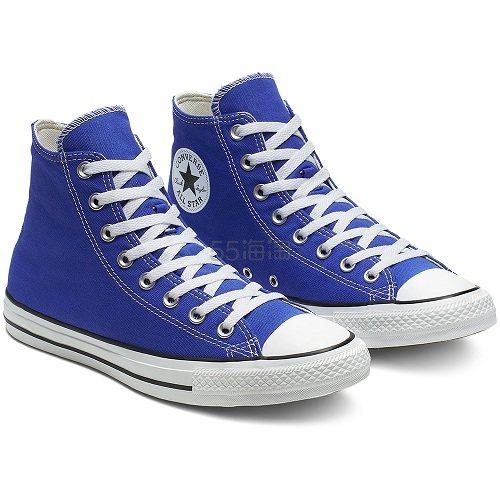 Converse 匡威 All Star 宝蓝色高帮帆布鞋 £42.5(约376元) - 海淘优惠海淘折扣 55海淘网